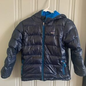 Boys Patagonia down coat